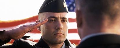 Georgetown Cadet Salutes